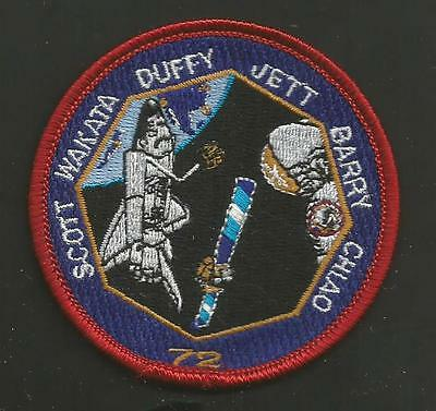 Shuttle Endeavour Sts-72  Crew Patch 3 Inches