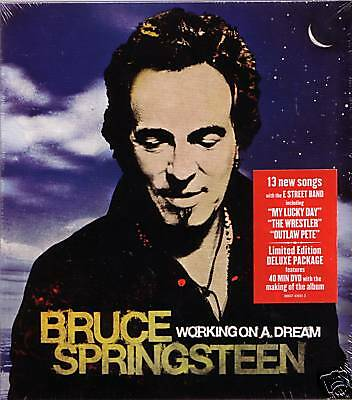 """BRUCE SPRINGSTEEN """"Working on a dream"""" Limited Edition"""