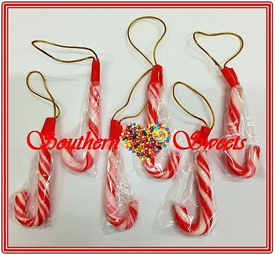 Xmas Candy Canes Christmas Red & White Lollies 200Ct