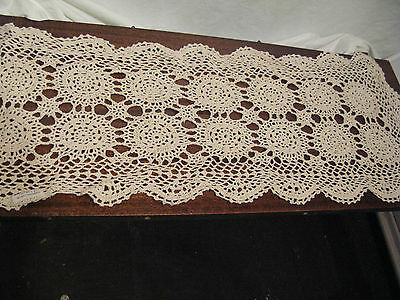 Beautiful Antique Lace Table Runner