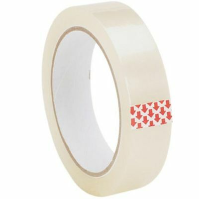 "6 X Rolls Clear Packing Tape Cellotape Sellotape 25Mm 1"" X 50M"