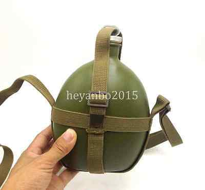 Wwii Ww2 Chinese Kmt Kuomintang Army Canteen Kettle Water Bottle Green