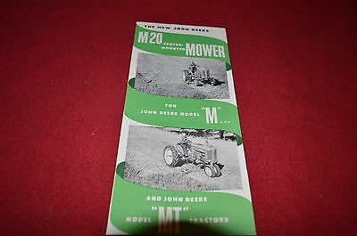 John Deere M-20 Mower For M & MT Tractor Dealer Brochure DCPA3