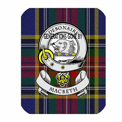 Mac Beth Clan Coaster