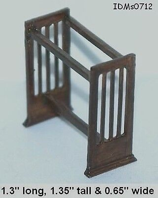 MISSION QUILT RACK 1:24 HALF SCALE DOLLHOUSE MINIATURES Heirloom Collection