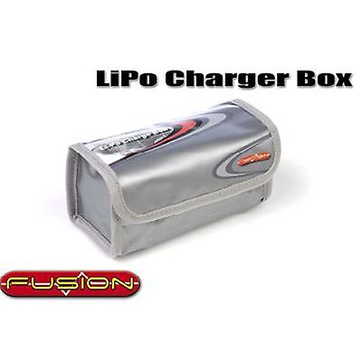 FUSION Li-Po Battery Box Bag - Charge Box 17x8x7cm RC CAR Plane Heli O-FS-LCB01