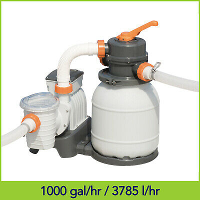 1000 gal Bestway Flowclear Sand Filter Pump For Above Ground Pools 58400