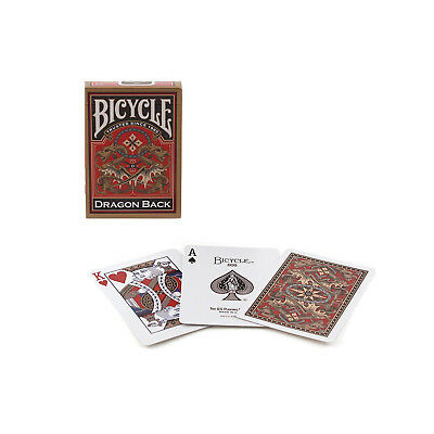 Bicycle Gold Dragon Back Playing Cards - 1 Sealed Deck