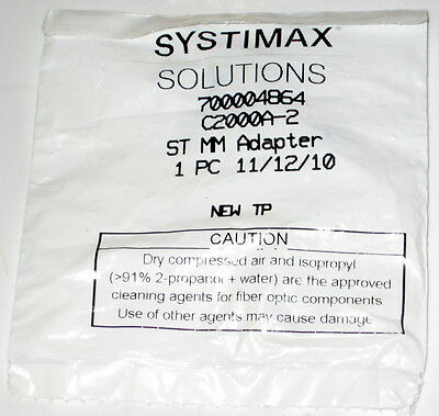 Systimax Solutions C2000A-2 Fiber Optic ST MM Connector
