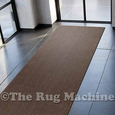 NATURAL SISAL BROWN TIGER EYE KNOTTED HANDWOVEN RUG RUNNER 80x400cm **NEW**