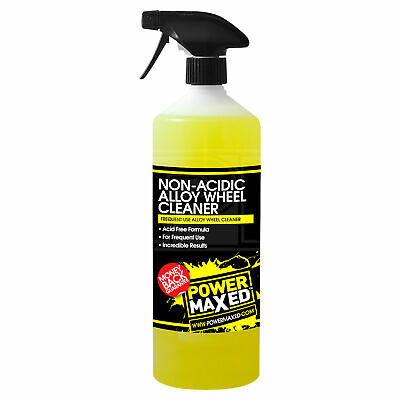 Power Maxed Alloy Wheel Cleaner Frequent Use - 1 Litre