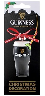 Guinness Resin Pint Hanging Decoration