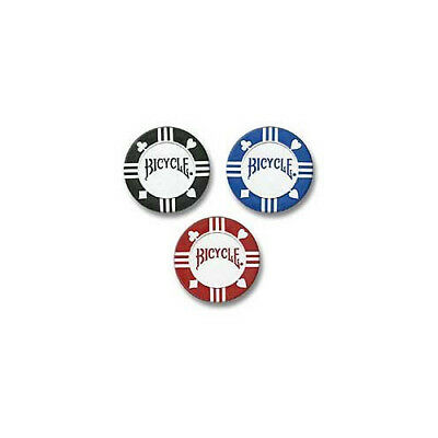 Bicycle 8 Gram 50 Count 2-Color Clay Poker Chips