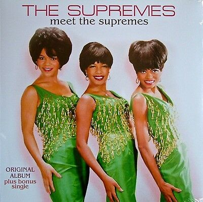 The Supremes - Meet The Supremes - New Re Issue Vinyl  Lp  Record.