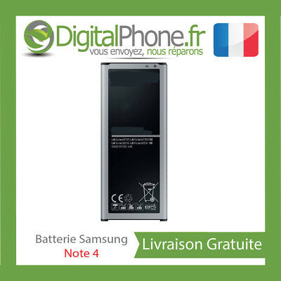 BATTERIE SAMSUNG GALAXY NOTE 4 IV N910 4500 mah TOP QUALITE