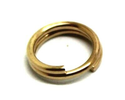 KAEDESIGNS 9ct YELLOW GOLD SPLIT RING MANY SIZES 5MM OR 6MM OR 7MM