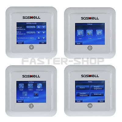 ColorFull screen touch underfloor Heating Thermostat Room Temperature Controller