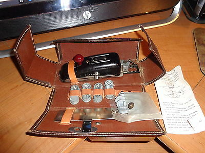 Vintage WHITE SEWING MACHINE BUTTONHOLER ATTACHMENT KIT W65432N  Instructions