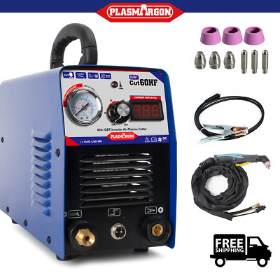 ICUT60 AIR PLASMA CUTTER INVERTER  Digital Display & AG60 & consumables & VAT