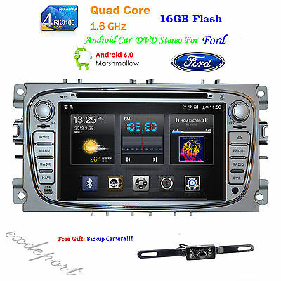 TOCADO 4 Core Android 4.4 Car Radio Stereo GPS For Ford Mondeo Focus 2008 - 2011