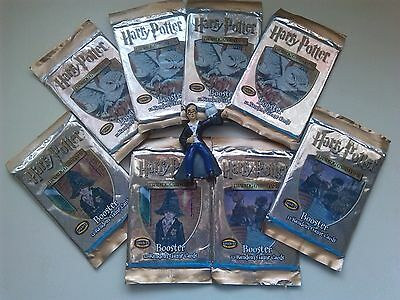 lot HARRY POTTER trading cards sealed advanced level Booster pack & figurine toy