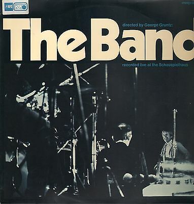LP - The Band - Recorded Live At The Schauspielhaus