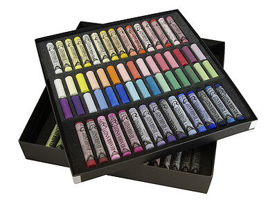 Rembrandt Artists Soft Pastels Set Of 60 Full Length & 60 Half Length Pastels