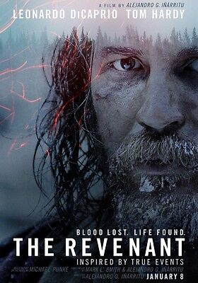 THE REVENANT Tom Hardy PHOTO Print POSTER Movie Leonardo DiCaprio Oscar 002