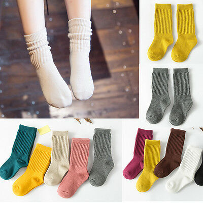 New Cartoon Toddlers Kids Girls Socks For Age 4-10 Years High Quality Hot