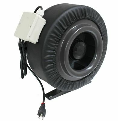 "NEW 12"" 1200CFM  Inline Duct Booster Fan Air Cool Hydroponic Blower Exhaust Vent"