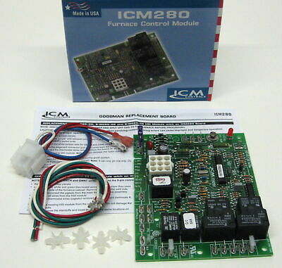 ICM280 Furnace Control Board for Goodman B18099-06 B18099-08 B18099-10 1012-933D