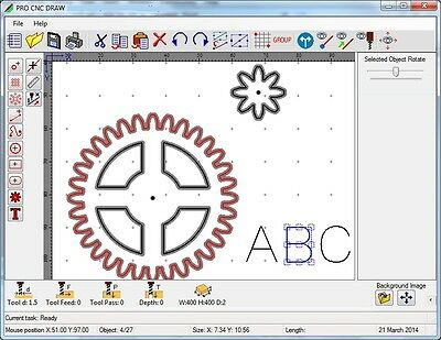 G code program for 2d drawing, dxf / gerber to G-code for CNC USB License Dongle