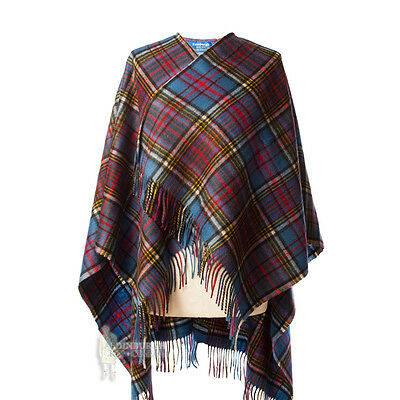 Edinburgh - Soft & Warm Lambswool Mini Or Girls Cape - Anderson
