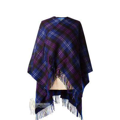 Edinburgh - Soft & Warm Lambswool Mini Or Girls Cape - Heritage Of Scotland