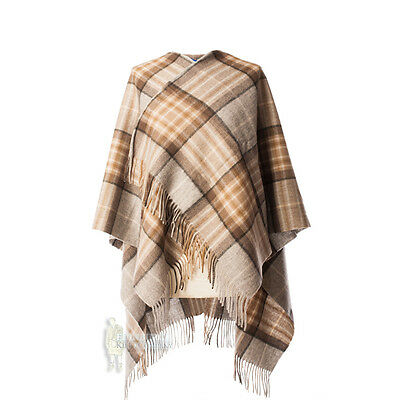 Edinburgh - Soft & Warm Lambswool Mini Or Girls Cape - Mackellar