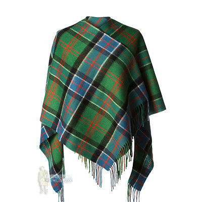 Edinburgh - Soft & Warm Lambswool Mini Or Girls Cape - Sinclair Hunting Ancient