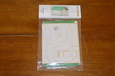 GC Laser Building Kit O Scale Kit Gas House #3294 Bob The Train Guy
