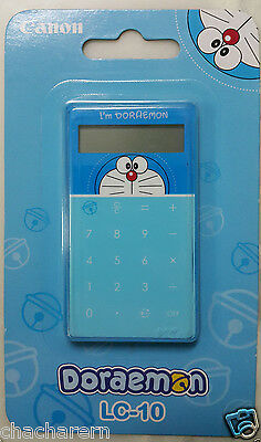 Canon Doraemon Calculator w Keychain Hook Collectable Gift Kids Education Cute
