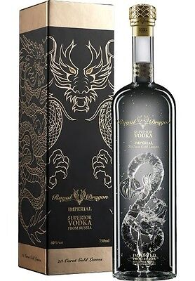 Royal Dragon Imperial Vodka BIG 1500ml Gift Boxed