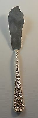 Master Butter Knife. Stieff Sterling Silver Repousse.