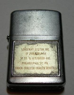 "Leaseway System Inc. Philadelphia Pennsylvania Lighter ""wellington"""