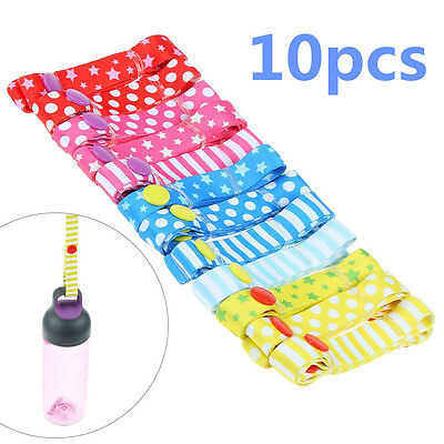 Useful 10x Toy Saver Sippy Cup Baby Bottle Strap Holder For Stroller/High Chair