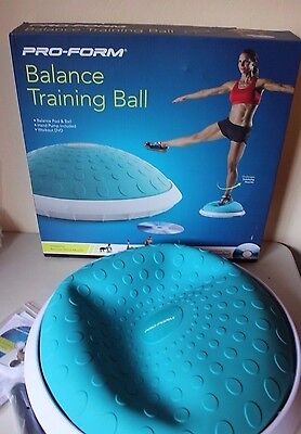 Pro-Form Balance Training Ball Workout DVD Pump Core Muscles - Brand NEW