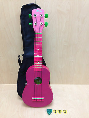 Stagg 54CM Ukulele Light Red w/Gig bag-Perfect Gift for Kids