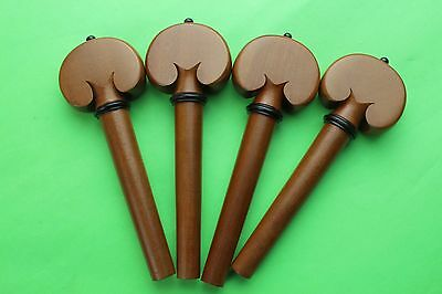 4 pcs cello Pegs Jujube wood Cello Tuning Pegs 4/4 size.cello accessories