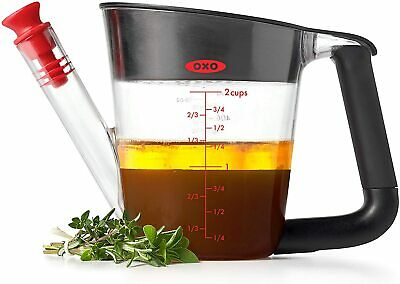 Oxo Good Grips 500ml Fat Separator 2 Cup Gravy Jug Small Measuring Cup