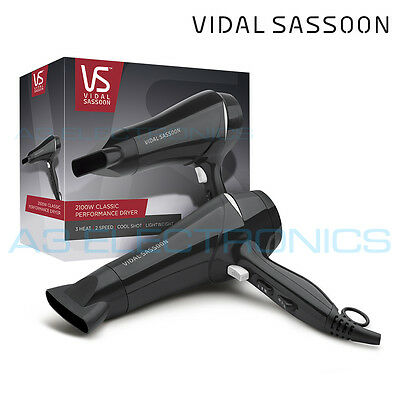 Vidal Sassoon VSDR5831UK Classic Performance Lightweight 2100W Hair Dryer