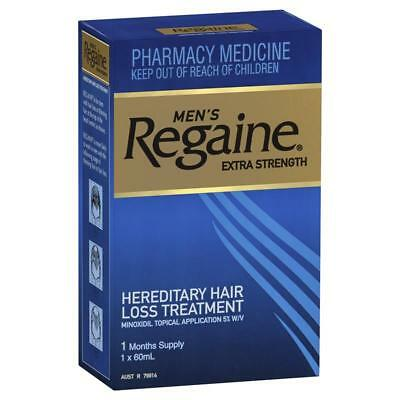 Regaine Men's Extra Strength 1 Month Supply Hair Loss 5% Minoxidil Topical