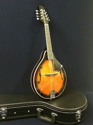 Smoky Mountain SM64 VSB A-style, F-holes Mandolin Sunburst w/Deluxe Hard Case