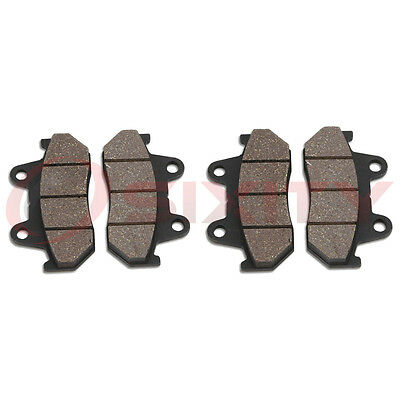 Front Organic Brake Pads 1984-1985 Honda VF1100S V65 Sabre Set Full Kit  kg